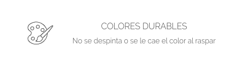 Colores durables