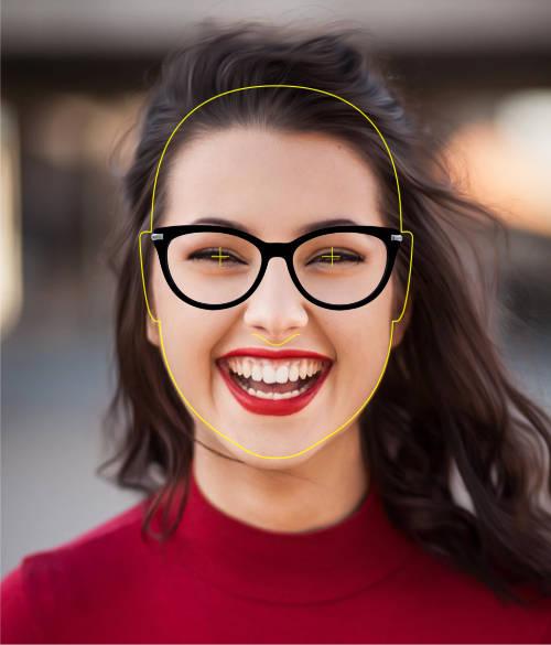 Probador virtual de lentes